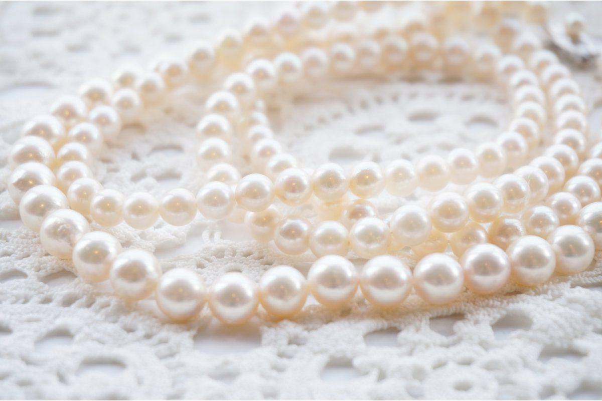 真珠ネックレスの修理