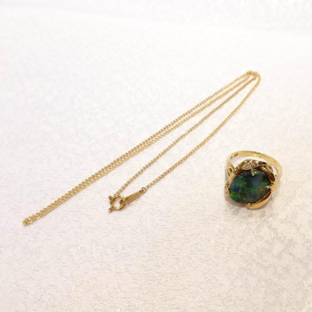 OJ290096-k18yg-pendant-before