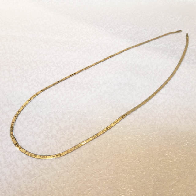 S300087-chain-necklace-k14yg-before