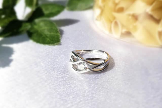 婚約指輪を普段使いにリフォーム例2-1
