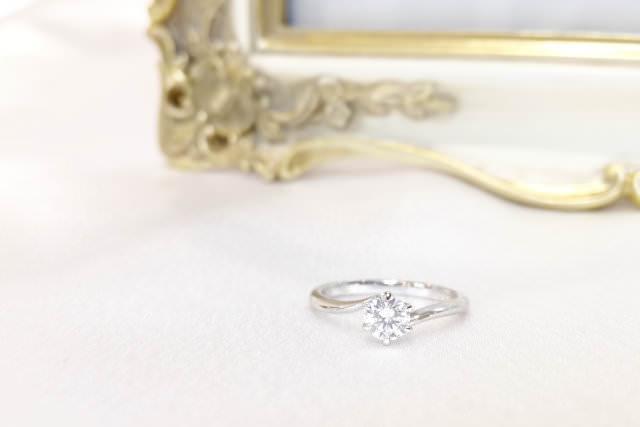 婚約指輪を普段使いにリフォーム例1-1