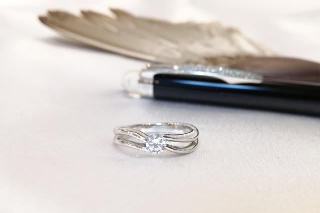 婚約指輪を普段使いにリフォーム例3-1