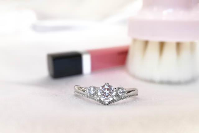 婚約指輪を普段使いにリフォーム例4-1