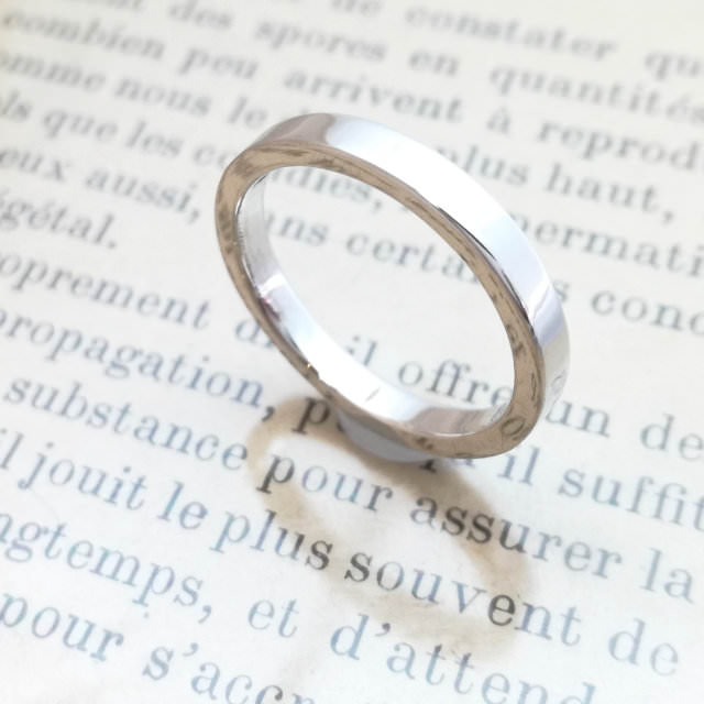 結婚指輪「Will」その1