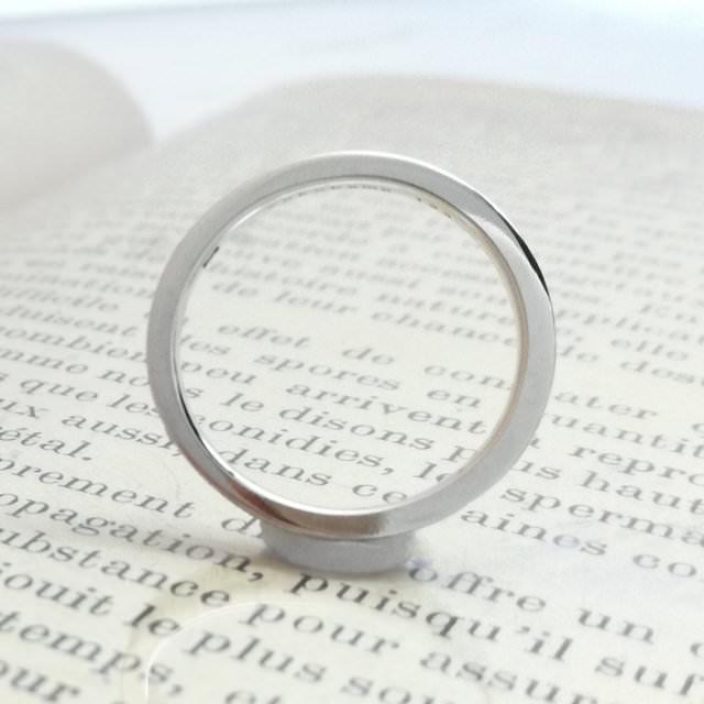 結婚指輪「Will」その2