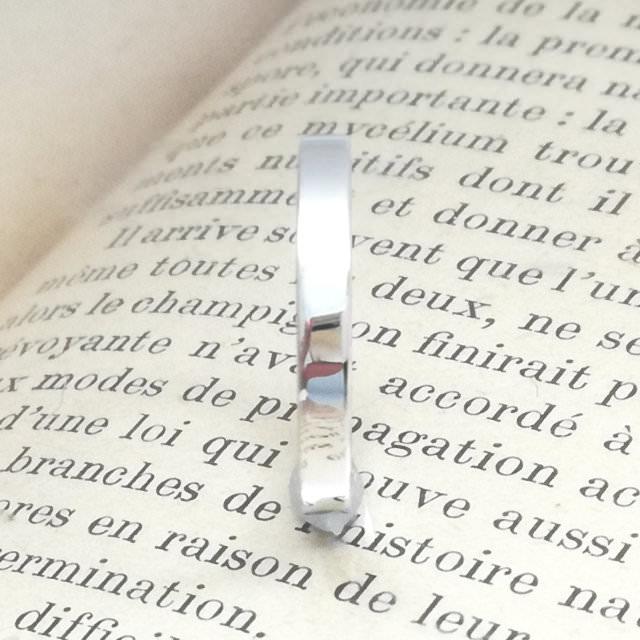 結婚指輪「Will」その3