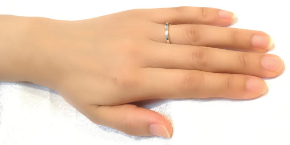 指輪の幅によるイメージの違い1.5mm