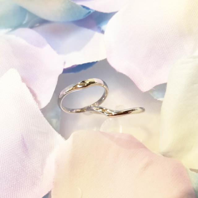 ふたりで作る手作り結婚指輪・ペアリングの作品例3