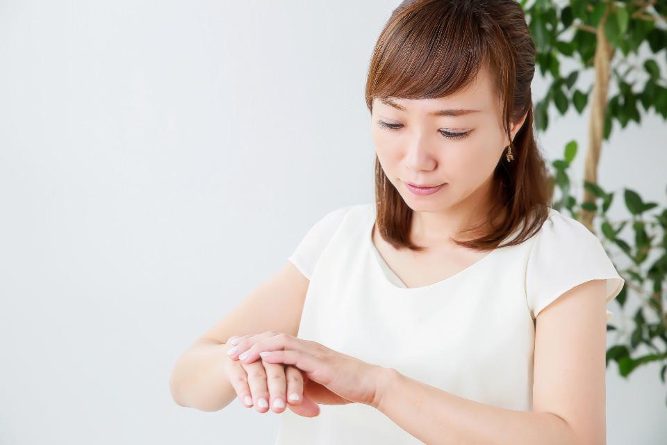 手・指のむくみを取る方法