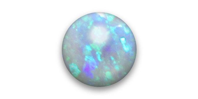 半透明、もしくは不透明な遊色石