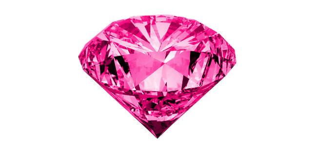 半透明なピンク色石