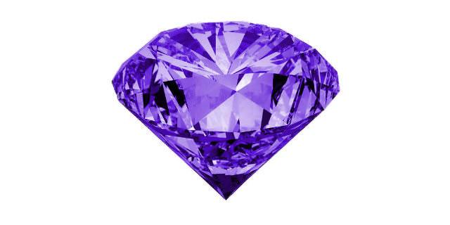 半透明な青紫色石