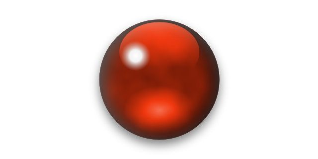半透明な赤茶色石