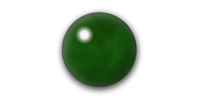 不透明な緑色石