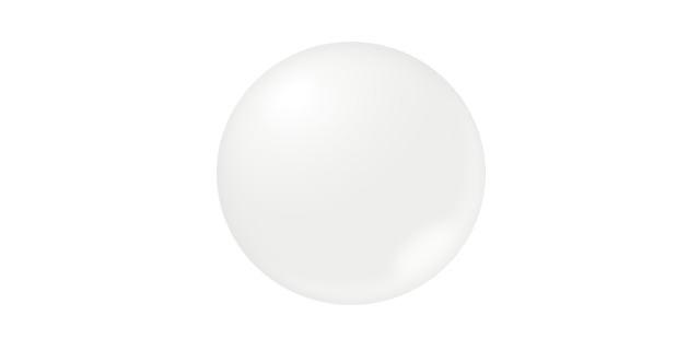 不透明な白色珠