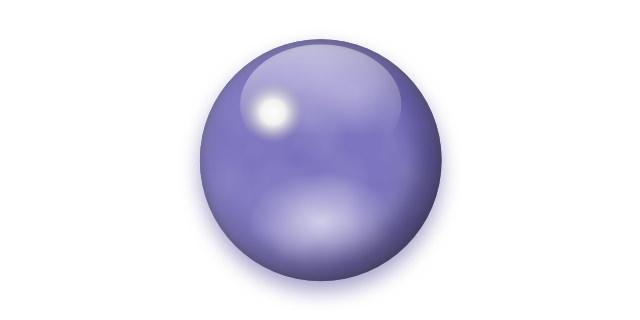 半透明な灰青色石
