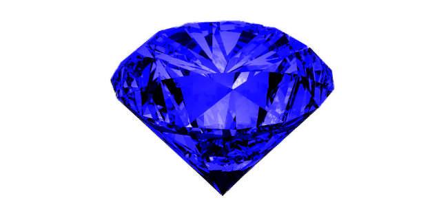 半透明な青色石