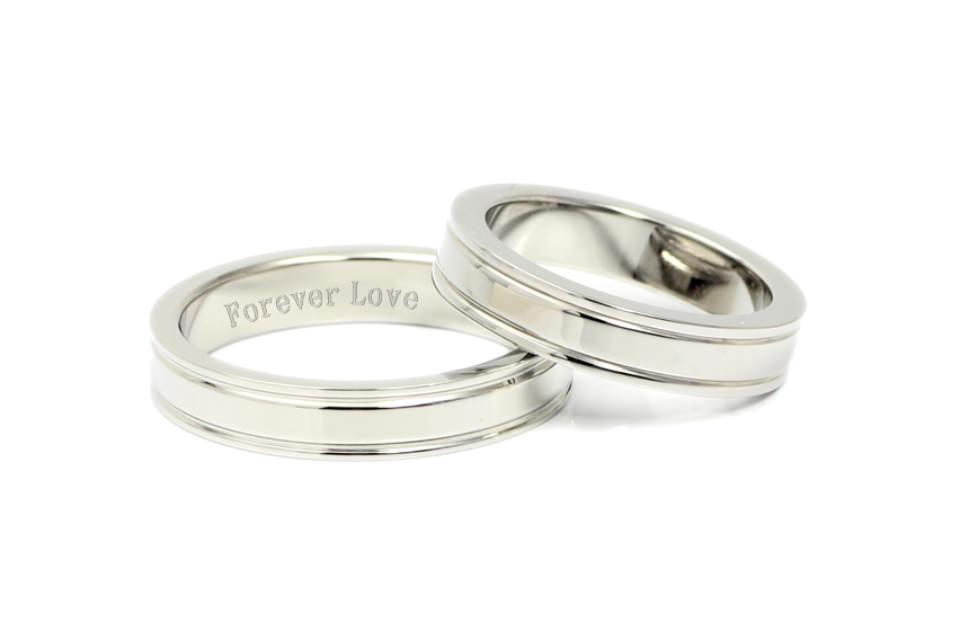 結婚指輪やペアリングの内側刻印