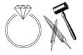 婚約指輪をワークショップで手作りするリスク