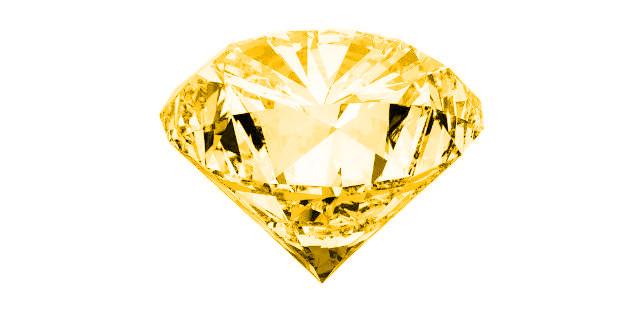 半透明な黄色、もしくは茶色石